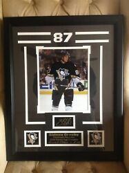 Sidney Crosby Framed Autographed Limited Edition Picture 25 Of 100 Custom Frame