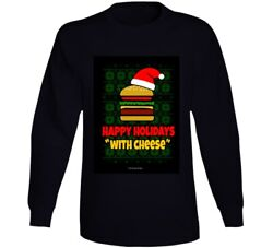 Happy Holidays With Cheese Samuel Jackson Capital One Pulp Fiction Funny Gift Lo