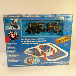 Lionel 7-11371 Little Lines Polar Express Train Set New In Open Box