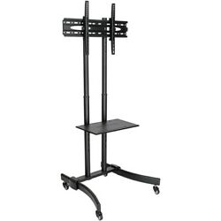 Tripp Lite Tv Mobile Flat-panel Floor Stand Cart Height Adjustable Lcd- 37 To