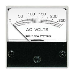 Blue Sea Systems 8245 Ac Analog Micro Voltmeter 2 Face 0-250 Volts