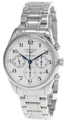 Longines Master Collection Auto Silver Dial 42mm Menand039s Watch L2.759.4.78.6