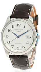 Longines Master Collection Auto 40mm Silver Dial Menand039s Watch L2.793.4.78.3