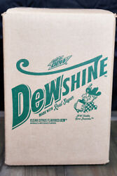 Mountain Dew Dewshine 25 Fl.oz Jug Unmarked And Sealed Outer/inter Boxes Aaa Con