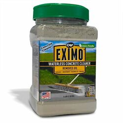 Eximo Waterless Concrete Cleaner For Driveway, Garage, Basement, And Walkway ...