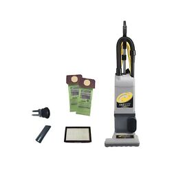 Proteam Proforce 1200xp Bagged Upright Vacuum Cleaner With Hepa Media Filtrat...