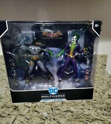 Dc Multiverse Batman And The Joker Mcfarlane 2-pack 7 Inch Action Figures