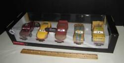 Disney Cars 3 Crazy 8 Deluxe Gift Set Diecast Metal 5 Pack Mcqueen Chester Rare