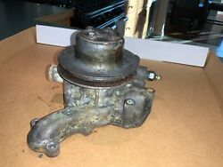 Yanmar Water Pump Off A 4jh-tbe Marine Turbo Diesel - With Pulley