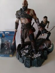 Ps4 God Of War Kratos Statue Exclusive Edition And Kratos Figure