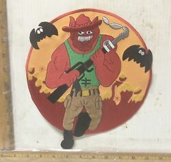 US Marine Corps Fighting Bulldog Embroidered Back Patch