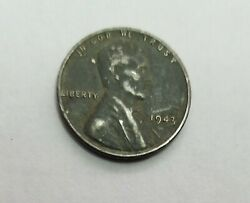 1943 Steel Lincoln Wheat Penny No Mint Mark