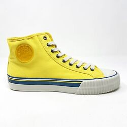 Pf Flyers Center Hi Yellow White Mens Casual Shoes Pm11oh2h
