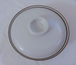 Vintage 1960's Heath Ceramic Serving Bowl Casserole Dish With Lid New Old Stock
