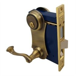 Lock Sets Lever Style Anti Brass Replacement Parts For Old Security Storm Doors