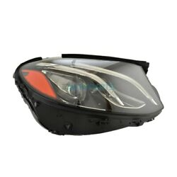 New Right Headlight Lens And Housing Fits 2017-2019 Mercedes-benz E300 Mb2519110
