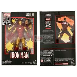 IRON MAN JEFF ROSS Marvel Legends TONY STARK 80th Anniversary 2019 6quot; FIGURE