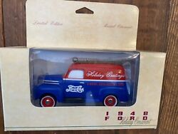 1948 Pepsi Ford Van Musical Lighted Christmas Ornament By Liberty Free Shipping