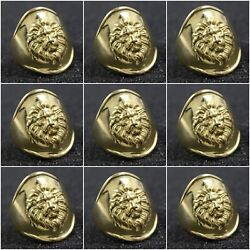 Solid 925 Sterling Silver Lion Face Signet Rings Wholesale Lot 9 Ring Size 6-8