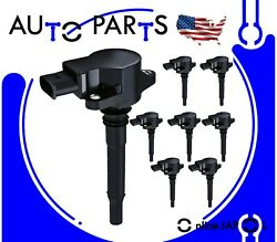8 Ignition Coil For 2007-14 Mercedes Benz C63 Cl63 Clk63 Cls63 E63 Ml63 S63 Sl63