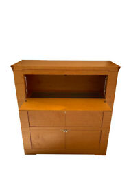 Designer Maplewood Bar Cabinet Made By Giorgetti