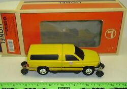 New Lionel 6-18439 Union Pacific Dodge Ram Track Inspection Vehicle