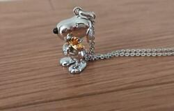 Snoopy Necklace Elegance United Feature Syndicate For Those Who Like Silver 925