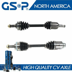 New Front Cv Axle Shaft Joint Pair Left And Right Pair Set For Probe Mx6 Mx-6 626