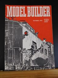 Model Builder 1943 October Lionel Magazine Box Facatory Carrying Cases Curving T