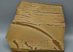 Tcr Owyhee Picture Jasper/agate/lapidary Polished Slab 316 Grams
