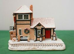 Lilliput Lane L2165 I'll Be Home For Christmas In Excellent Condition, Boxed.