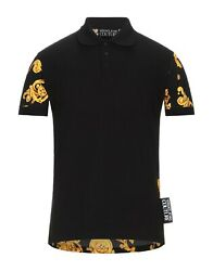 Nwt Versace Jeans Couture Polo Shirt It48