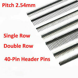 Straight/right Angle/smd 1x40 2x40 Male Pin Header 2.54mm Pcb Jumper Connector