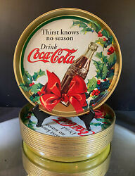 Coca-cola Christmas Trays--1998--13 Trays--decorate The Entire House--buy It N