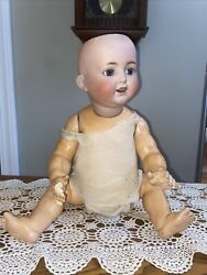 20andrdquo Bisque Head German Baby Ball Jointed Body K Star R Simon And Halbig 126