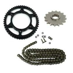 Drive Chain And Sprockets Kit For Suzuki Dr-z125l Drz125l 2003-2016