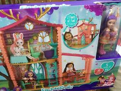 Doll Enchantimals Cozy Deer House Playset With One Doll Pet In Box Mattel 2017