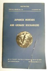 Wwii Ww2 Japanese Mortars And Grenade Dischargers - Vintage Used Special Series 30