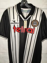 Udinese Italy New 98-99 Home Kit Xl Flawless Soccer Shirt Jersey