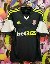 Stoke City Fc 150 Years Football Shirt Soccer Jersey Top Adidas 2013 Mens Size L