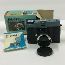 C01_062 Diana -f 35mm Plastic Camera New In Box With Instruction Book