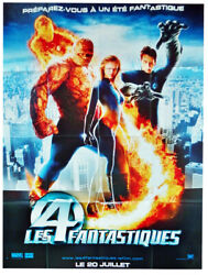 Pre Poster Folded 47 3/16x63in The 4 Fantastic Fantastic Four 2005 New