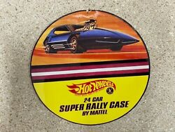 Hot Wheels #x27;24 Car Rally Case#x27; Reproduction BACK Sticker Sheets 1969RCB
