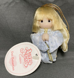 1999 Precious Moments Doll 4 Nativity Angel Ornament 1673 New With Tags