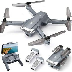 4k Drone With Uhd Camera For Adults Easy Gps Quadcopter For Beginner With
