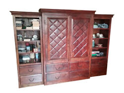 Antique Cabinet Made Of Solid Wood