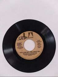 Bobby Womack Come Land039amore / Thatand039s The Way I Feel About Cha- 45 Rpm Ua Records