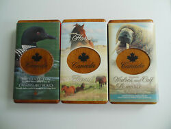 Collection Of Eight Limited Edition Canada Coin And Stamp Sets