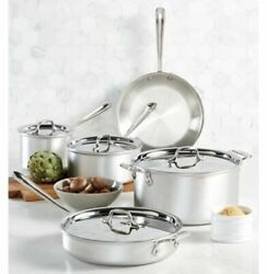 All-clad Master Chef 9-pc. Cookware Set New