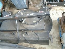 Power Trac Hydraulic Mower 72 Inch Quick Attach Articulating Tractor